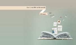 Copy of Leer y escribir en la escuela. Delia Lerner