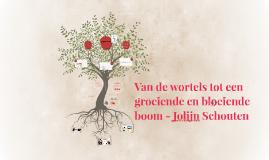 Van de wortels tot een groeiende en bloeiende boom - Jolijn