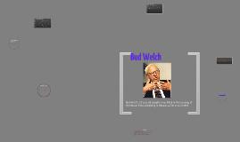 Bud Welch