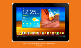 Dispositivo tecnologico - Tablet (MK)