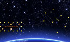 Les constellations : Océane et Simon....