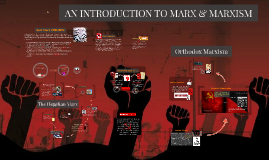 AN INTRODUCTION TO MARX & MARXISM