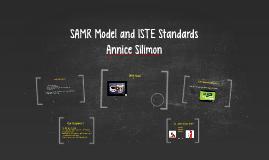 Copy of SAMR Model and ISTE Standards