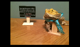 Bearded Dragons at Play: YouTube videos and the simulacra of