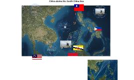 China claims the South China Sea