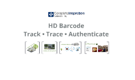 HD Track and Trace System