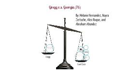 Gregg v.s. Georgia