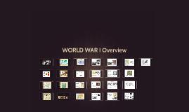 WORLD WAR I Overview