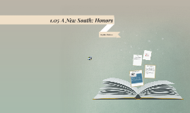 1.05 A New South: Honors