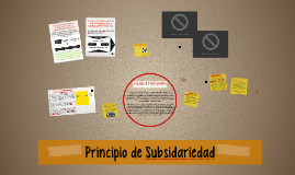 principio de Subsidariedad
