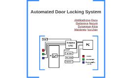 Automated Door Locking System