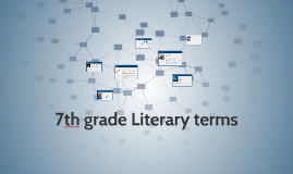 7th grade Literary terms