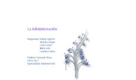 La administración