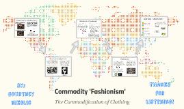 Commodity Fashionism