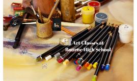 Art Classes at Bourne High School