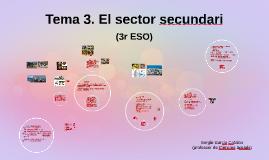 Tema 3. El sector secundari