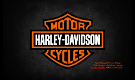 Harley-Davidson Strategic Management Presentation
