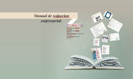 Manual de redaccion empresarial.