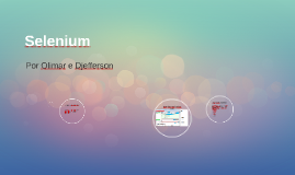 Copy of Selenium