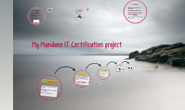 Project IT Certs