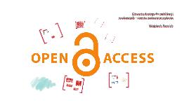 Otwarty dostęp - często zadawane pytania