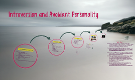 Introversion and Avoidant Personality Disorder