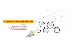 INVERSIONISTAS Y ACCIONISTAS