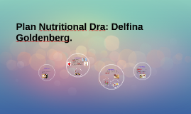 Plan Nutritional Dra: Delfina Goldenberg.