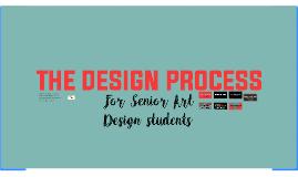 THE ART DESIGN PROCESS