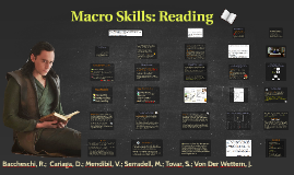 Copy of Macro Skills: Reading