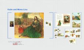 Katia nad the Mona Lisa