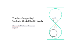 Are teachers able to support students mental health needs?