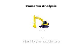 Komatsu Analysis: Case 4