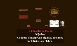 La Filosofía de Platón