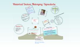 Copy of Copy of Rhetorical Devices: Metonymy/ Synecdoche