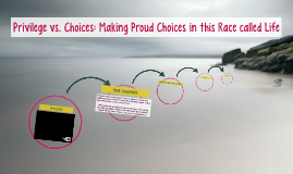 Privilege vs. Choices: Making Proud Choices in this Race cal