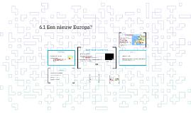 6.1 Een nieuw Europa?