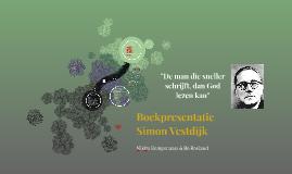 Boekpresentatie Simon Vestdijk
