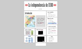 Copy of La independencia de EEUU