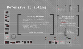 Defensive Scripting