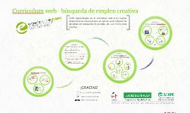 Curriculum web - búsqueda de empleo creativa