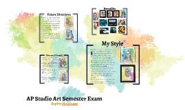 AP Studio Art Semester Exam