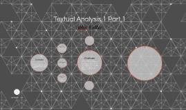 Textual Analysis 1 Part 1