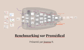 Benchmarking sur Promédical