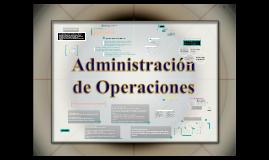 Administración de Operaciones.