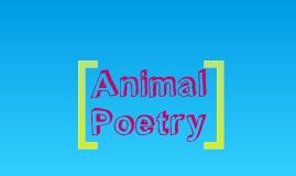 Copy of Animal Poetry by emma bonham