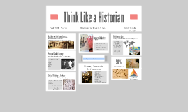 Copy of Think Like a Historian