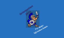Copy of Orientation 2012