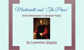 "Machiavelli and ""The Prince"""