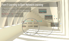 From E-Learning to Open Network Learning